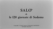17 Salò, or the 120 Days of Sodom